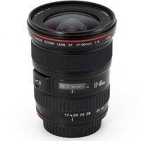 Canon EF 17-40mm f/4.0L USM SLR Wide zoom lens Black