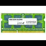 2-Power 4GB MultiSpeed 1066/1333/1600 MHz SoDIMM Memory - replaces FYHV1
