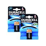 Duracell Ultra Power 9V 2 Pack Single-use battery Alkaline