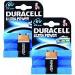 Duracell Ultra Power 9V 2 Pack
