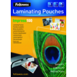 Fellowes A4 Glossy 100 Micron Laminating Pouch - 100 pack