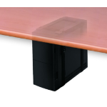 Newstar CPU-D025BLACK Desk-mounted CPU holder Black CPU holder