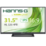 "Hannspree Hanns.G HL 326 HPB 32"" Full HD TFT Black computer monitor"