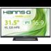 "Hannspree Hanns.G HL 326 HPB 32"" Full HD TFT Black computer monitor"
