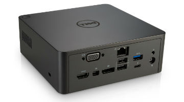 DELL WD19TB THUNDERBOLT DOCKING STATION,  USB, USB-C, HDMI,