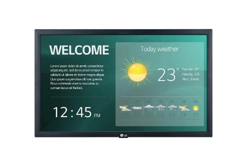 LG 22SM3G-B signage display 54.6 cm (21.5