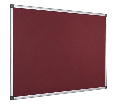 Bi-Office FA3833170 insert notice board Indoor Burgundy Aluminium