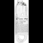 eSTUFF Lightning Cable MFI 1m Whit White