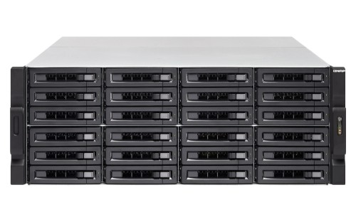 QNAP TVS-2472XU-RP Ethernet LAN Rack (4U) Black NAS