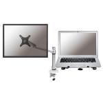 Newstar FPMA-D300NOTEBOOK Flat panel Tischhalter 68,6 cm (27 Zoll) Silber
