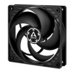ARCTIC P12 PWM PST (Black/Black) Pressure-optimised 120 mm Fan with PWM PST