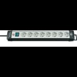 Brennenstuhl 1951580101 Indoor 8AC outlet(s) 5m Black,Grey power extension