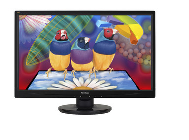 "Viewsonic LED LCD VA2445-LED pantalla para PC 59,9 cm (23.6"") Full HD Plana Negro"