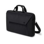 """Dicota Slim Case Plus notebook case 39.6 cm (15.6"""") Black"""