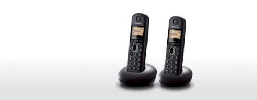 Panasonic KX-TGB212E DECT telephone Black Caller ID