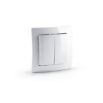 Devolo 09505 Pushbutton switch White electrical switch