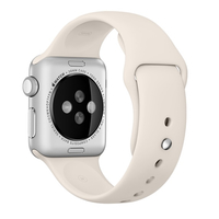 Apple 38mm Sport Band - Watch strap - antique white - for Watch (38 mm)