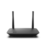 Linksys E2500V4 wireless router Dual-band (2.4 GHz / 5 GHz) Fast Ethernet Black