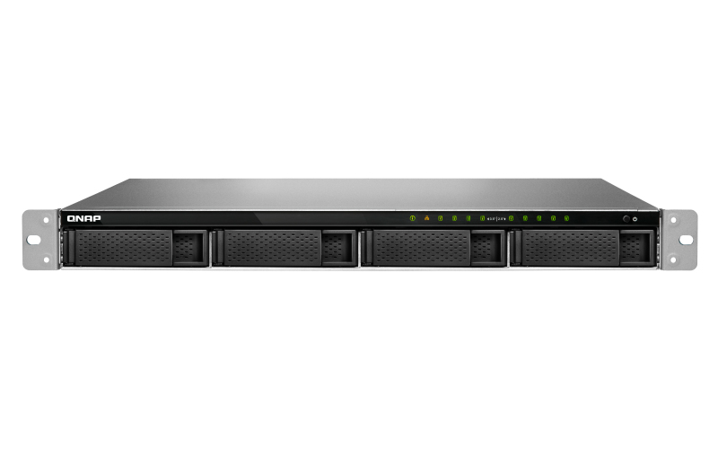 QNAP TS-983XU-RP Ethernet LAN Rack (1U) Black NAS