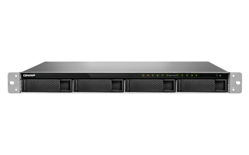 QNAP TS-983XU-RP E-2124 Ethernet LAN Rack (1U) Black NAS