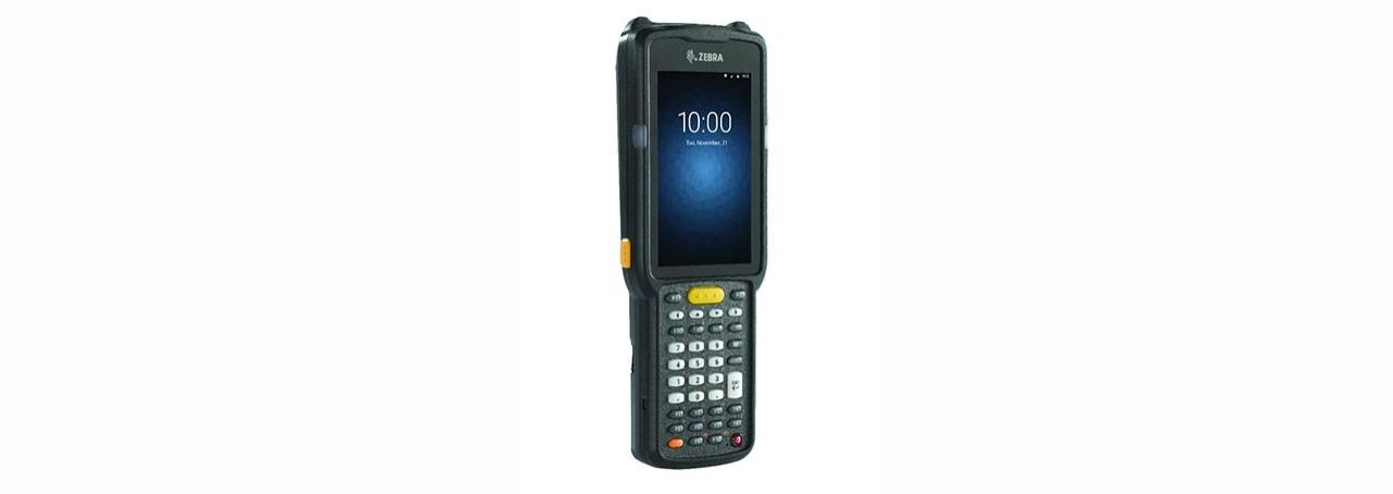 "Zebra MC3300 handheld mobile computer 10.2 cm (4"") 800 x 480 pixels Touchscreen 375 g Black"