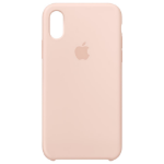 "Apple MTF82ZM/A mobile phone case 14.7 cm (5.8"") Skin case Pink, Sand"
