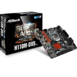 Asrock H110M-DVS R2.0 Intel Socket 1151 Micro ATX DDR4 D-Sub/DVI-D USB 3.1 Motherboard