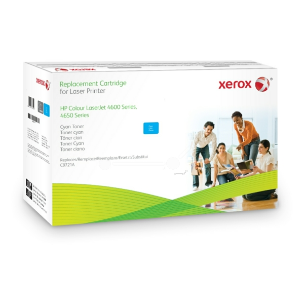Xerox 003R99619 compatible Toner cyan, 8K pages @ 5% coverage (replaces HP 641A)
