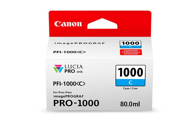 Canon PFI-1000 C cartucho de tinta Original Cian