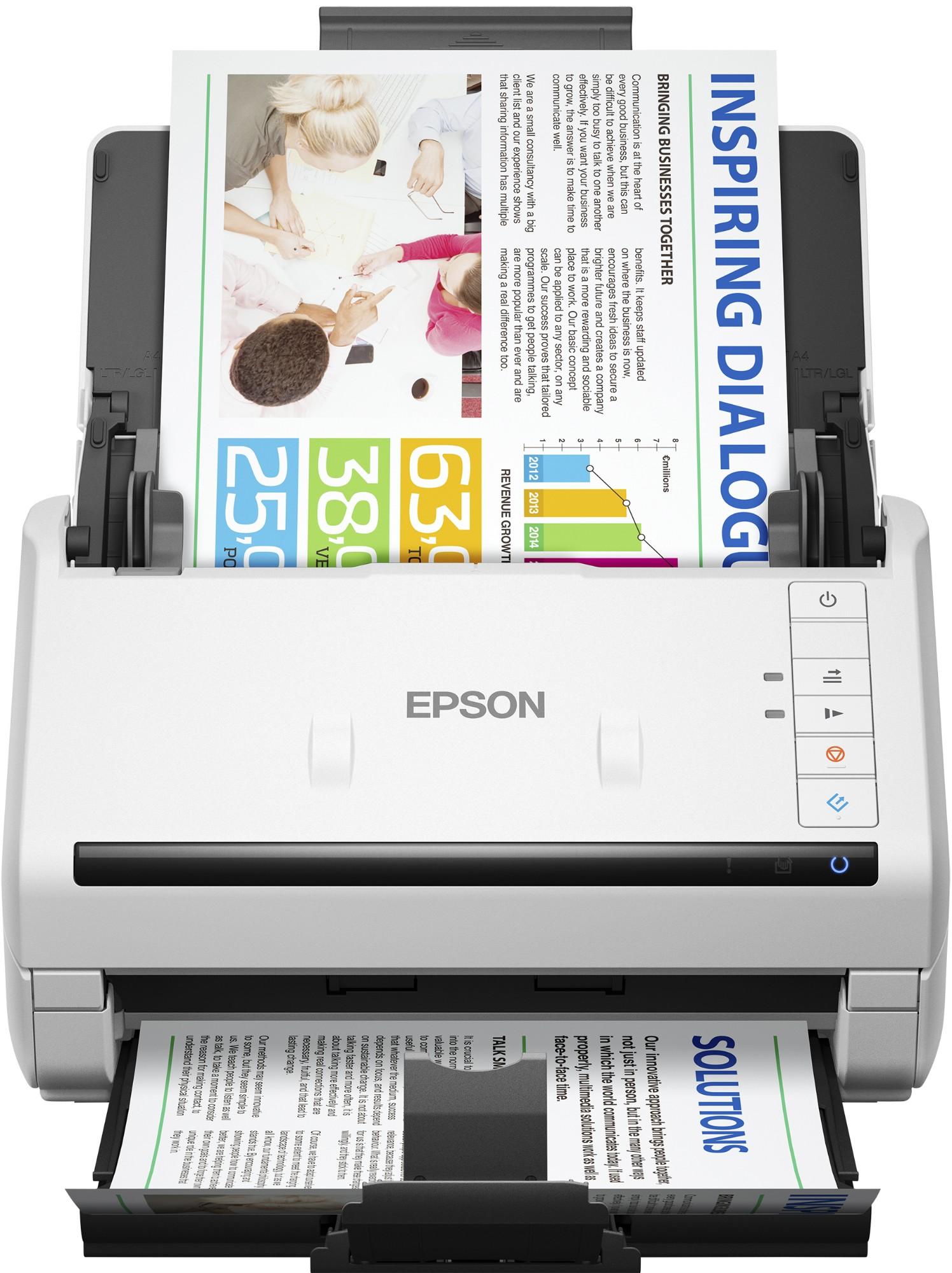 Workforce Ds-530 Color Document Scanner USB