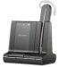 Plantronics Savi W740 auriculares para móvil Monoaural gancho de oreja Negro Inalámbrico