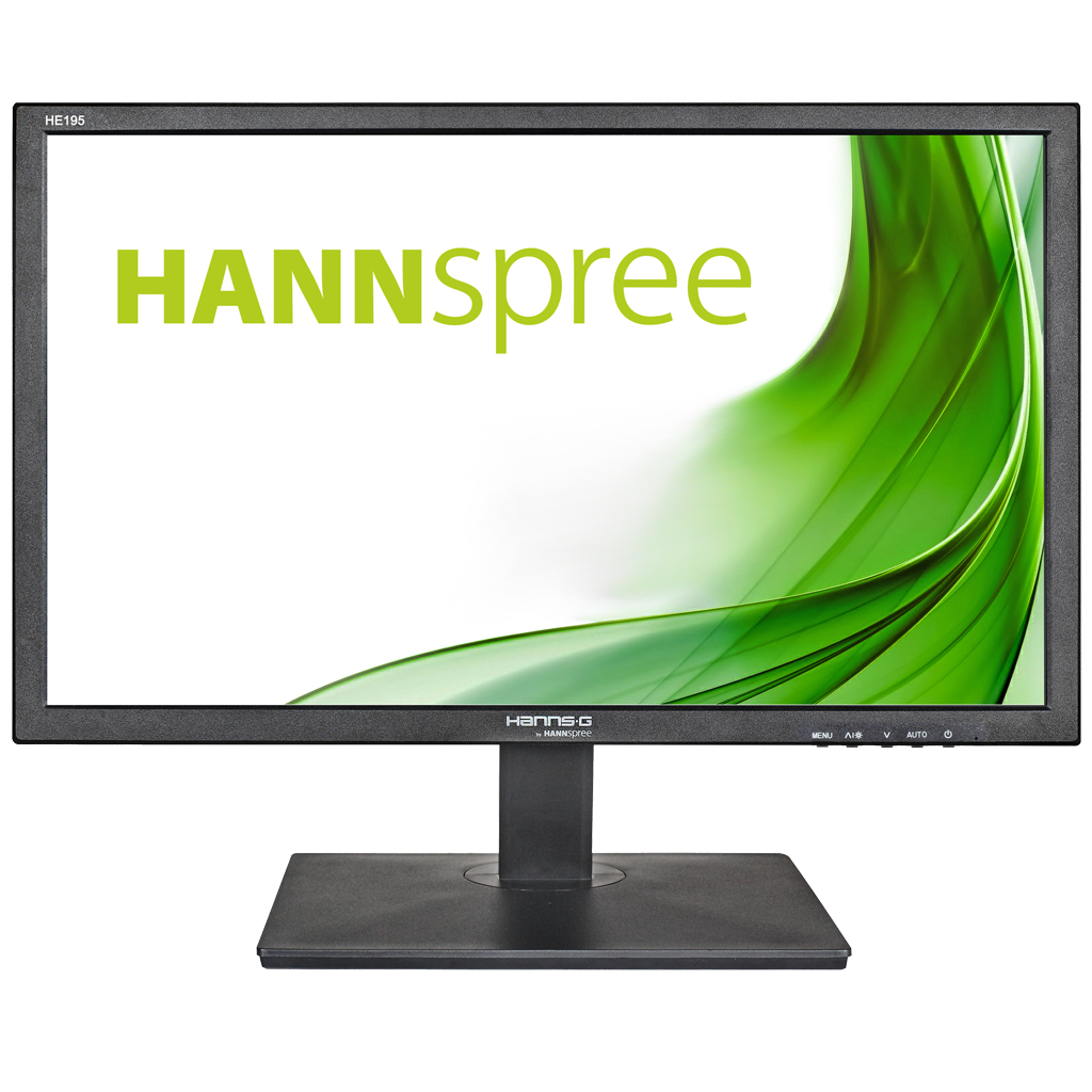 "Hannspree Hanns.G HE195ANB LED display 47 cm (18.5"") 1366 x 768 pixels WXGA Black"