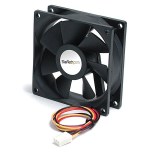 StarTech.com 92x25mm Ball Bearing Quiet Computer Case Fan w/ TX3 ConnectorZZZZZ], FAN9X25TX3L