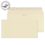 Blake Premium Business Wallet Peel and Seal Cream Wove DL 110x220mm 120gsm (Pack 500)