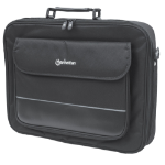 "Manhattan Empire Laptop Bag 17.3"", Clamshell design, Accessories Pocket, Black"
