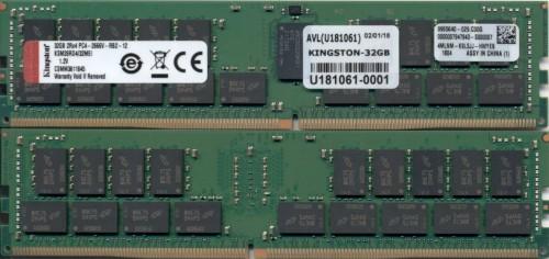 Kingston Technology KSM26RD4/32MEI memory module 32 GB DDR4 2666 MHz ECC