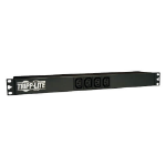 Tripp Lite PDUNV 1.9-3.8kW Single-Phase 120-240V Basic PDU, 14 Outlets (12 C13 & 2 C19), C20 with 5 Adapters, 10 ft. (3.05 m) Cord, 1U Rack-Mount
