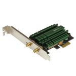 StarTech.com PCI Express AC1200 Dual Band Wireless-AC Network Adapter - PCIe 802.11ac WiFi Card
