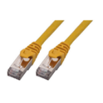 MCL FCC6BMHF-1M/J cable de red Cat6 F/UTP (FTP) Amarillo