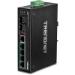 Trendnet TI-PG62 switch No administrado Gigabit Ethernet (10/100/1000) Energía sobre Ethernet (PoE) Negro