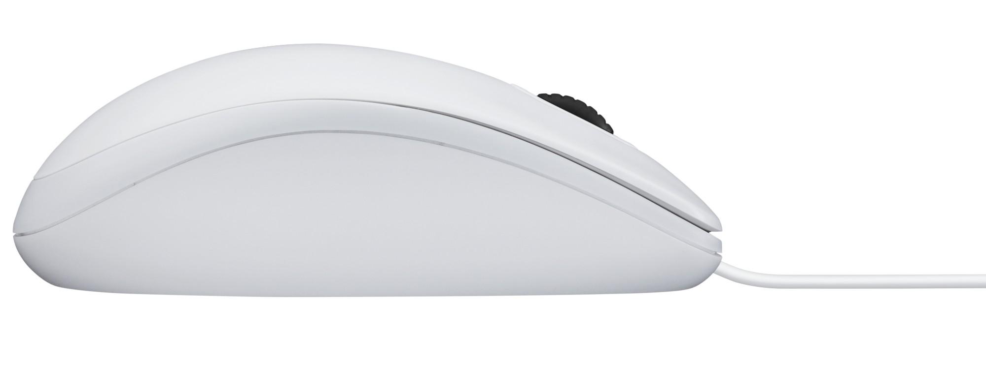 Logitech B100 Mice Usb Optical 800 Dpi Ambidextrous White Digital Mouse Outlet