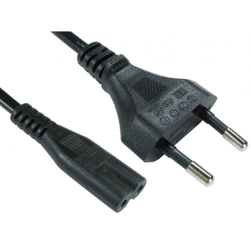 Cables Direct RB-295W power cable Black CEE7/16 C7 coupler