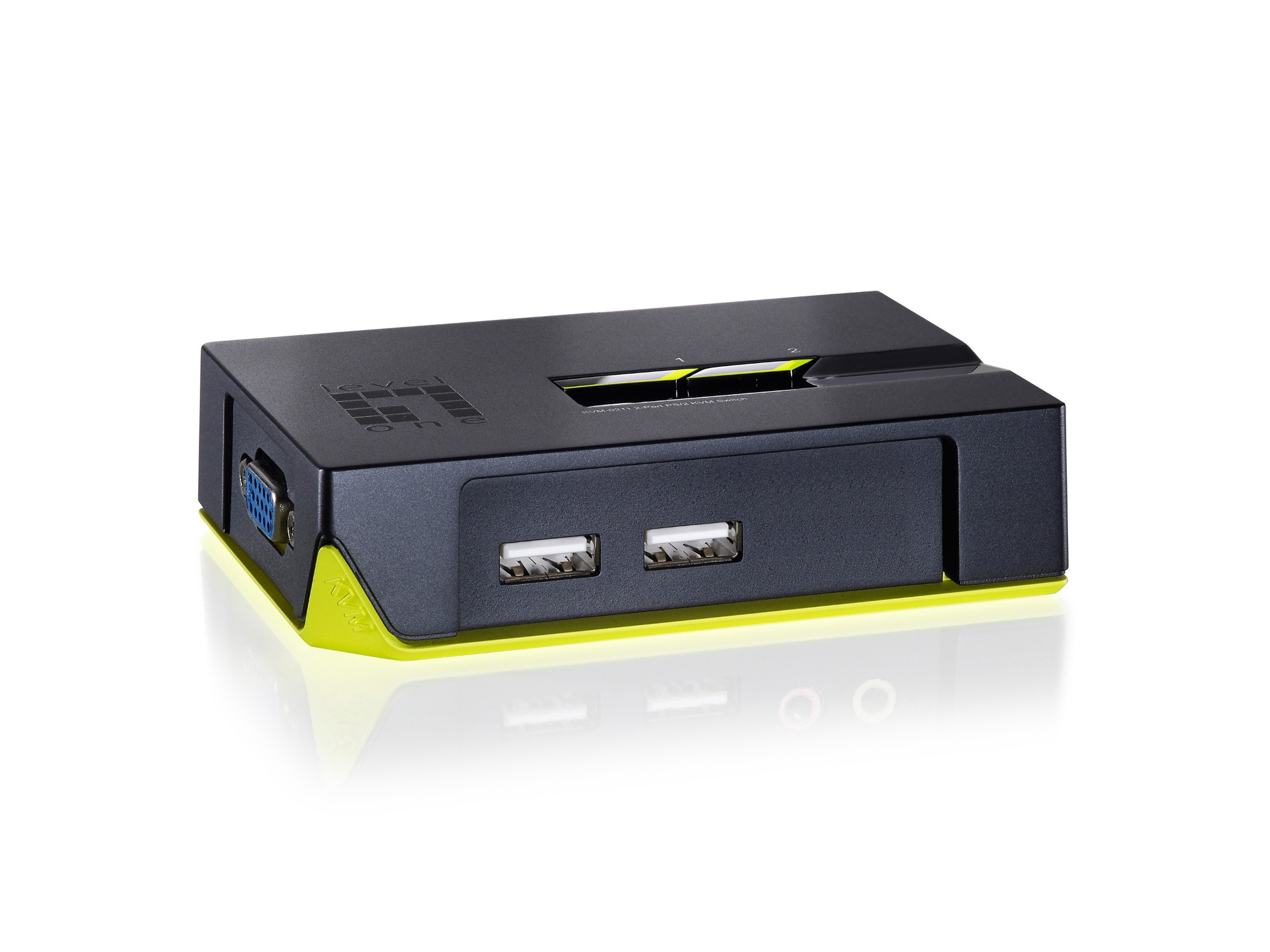 LevelOne 2-Port USB KVM Switch