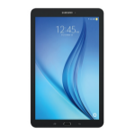 Samsung Galaxy Tab E 9.6 tablet Qualcomm Snapdragon APQ8016 16 GB Black