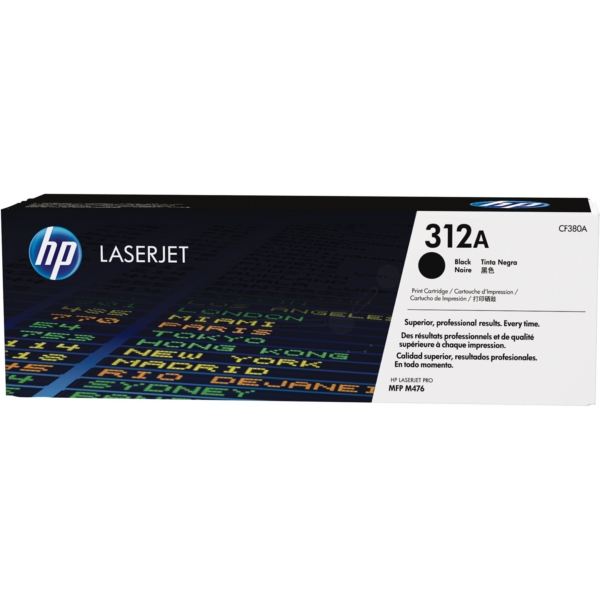 HP CF380A (312A) Toner black, 2.4K pages