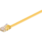 Microconnect V-UTP601Y-FLAT networking cable 1 m Cat6 U/UTP (UTP) Yellow