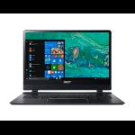 "Acer Swift SF714-51T-M44U Black Notebook 35.6 cm (14"") 1920 x 1080 pixels Touchscreen 1.30 GHz 7th gen Intel® Core™ i7 i7-7Y75 3G 4G"