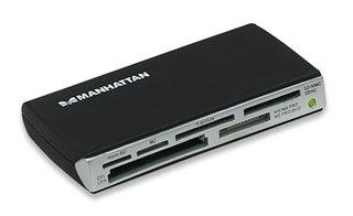 Manhattan Multi-Card Reader/Writer USB 2.0 Black card reader