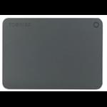 Toshiba Canvio Premium 1TB Micro-USB B 3.0 (3.1 Gen 1) 1000GB Grey,Metallic external hard drive