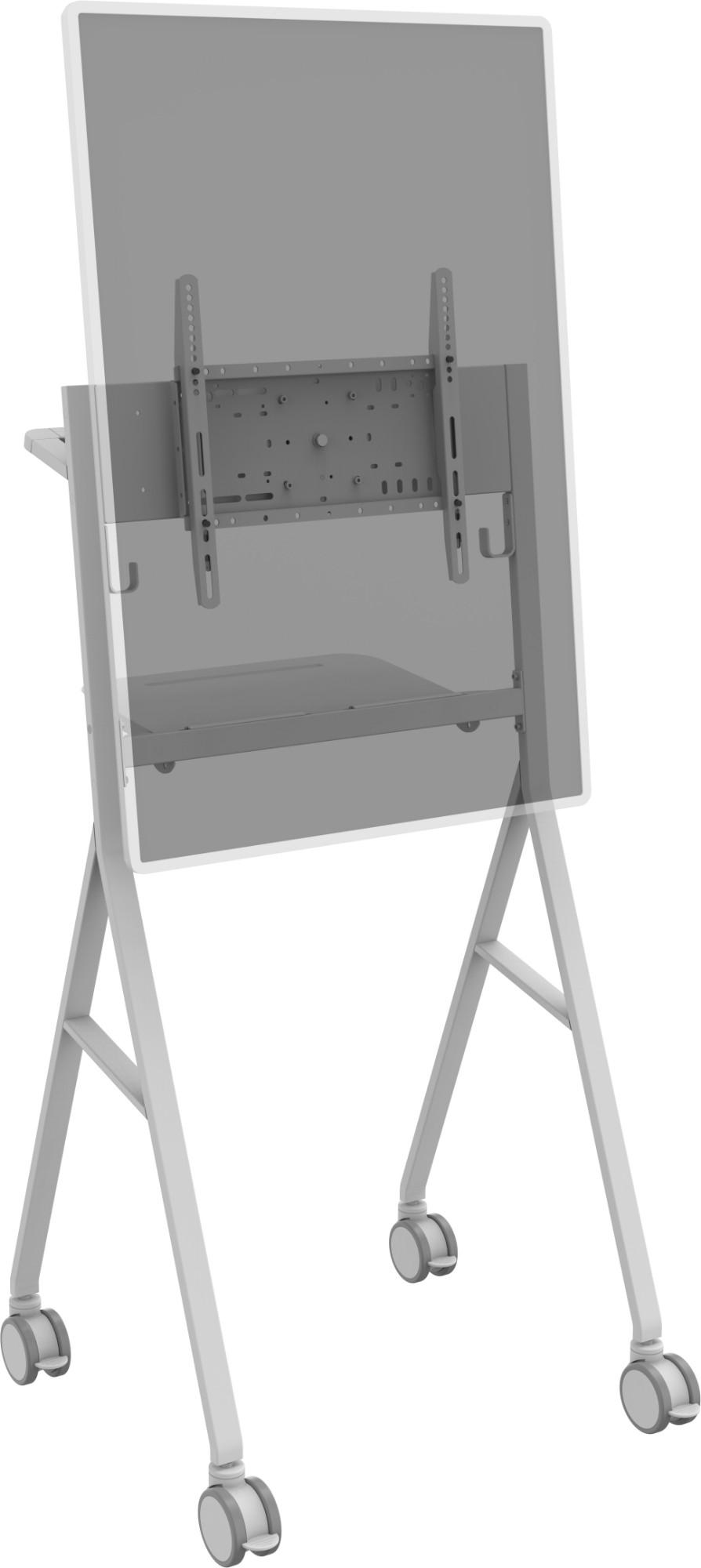 "Vision VFM-F10/WH signage display mount 139,7 cm (55"") Blanco"